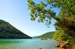Limski Fjord in Istria,Croatia. stock image