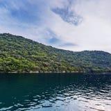 Limski-Kanal Limski-Fjord in Istria Lizenzfreie Stockfotos
