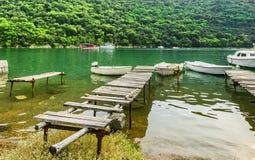 Limski-Kanal Limski-Fjord in Istria nahe Rovinj Lizenzfreies Stockfoto