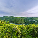 Limski-Kanal Limski-Fjord in Istria nahe Rovinj Stockbilder