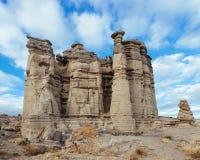 Limstone北新墨西哥的岩层 库存照片