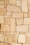 Limstone bricks Royalty Free Stock Images