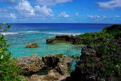 Limu Pools, Niue Royalty Free Stock Photography