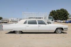 Limusina de Cadillac Fleetwood del americano del vintage Fotografía de archivo