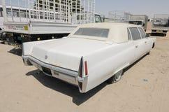 Limusina de Cadillac fleetwood do americano do vintage Fotos de Stock Royalty Free