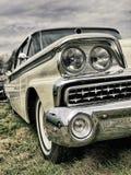 Limusina del americano del vintage Foto de archivo libre de regalías