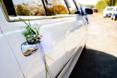Limusina do casamento fotos de stock royalty free
