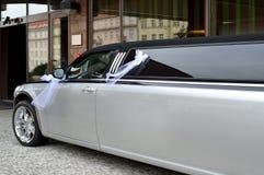 Limusina para o evento wedding fotografia de stock
