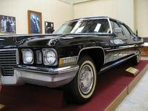 Limusina presidencial de Cadillac de la vendimia Imágenes de archivo libres de regalías