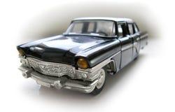 Limusina velha de União Soviética - carro modelo. Passatempo, coleção Fotos de Stock Royalty Free