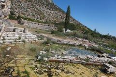 Limyra在安塔利亚,土耳其 免版税库存照片