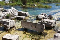 Limyra在安塔利亚,土耳其 库存照片