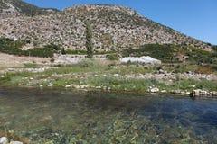 Limyra em Antalya, Turquia Foto de Stock Royalty Free