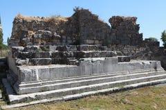 Limyra en Antalya, Turquía Foto de archivo libre de regalías