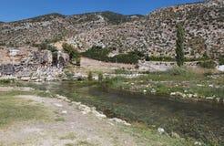 Limyra i Antalya, Turkiet Arkivfoto