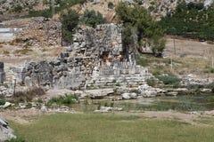 Limyra i Antalya, Turkiet Fotografering för Bildbyråer