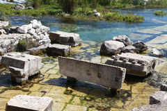 Limyra w Antalya, Turcja Zdjęcia Stock
