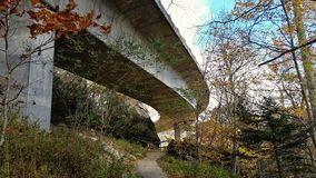 Lin Cove Viaduct fotografia stock libera da diritti