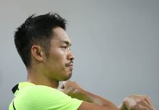 LIN Dan of China Stock Images