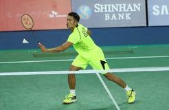 LIN Dan de China participa Foto de Stock