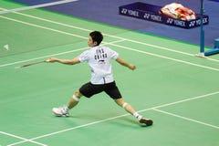 Lin Dan, Männer sondert aus Lizenzfreies Stockfoto