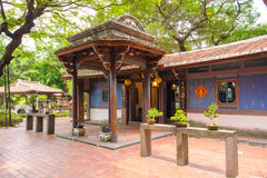 Lin family Garden in Taipei, Taiwan Royalty Free Stock Photos