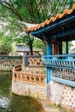 Lin Family Mansion e jardim em Taipei, Taiwan fotos de stock royalty free