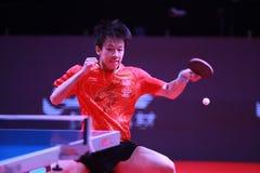 Lin Gaoyuan da rotação da parte superior de China imagens de stock
