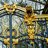Lin london england the old metal gate  royal palace Stock Images