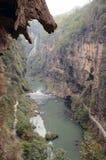 lin ma rzeki dolina Fotografia Stock
