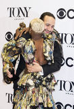 Lin-Manuel Miranda and Cynthia Erivo Win at 70th Annual Tonys Royalty Free Stock Images