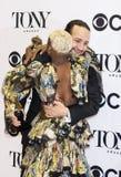 Lin-Manuel Miranda e Cynthia Erivo Win em 70th Tonys anual Imagens de Stock Royalty Free