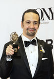 Lin-Manuel Miranda Wins at 70th Annual Tonys Stock Photo
