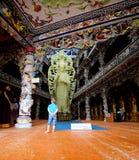 The Lin Phuoc pagoda in the Vietnamese city of Dalat. Royalty Free Stock Photos