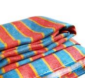 Lin textile d'isolement Photos libres de droits