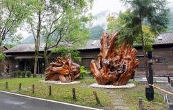 Lin Tian shanu Kulturalny muzeum zdjęcie stock