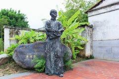 Lin Yutang Sculpture imagens de stock royalty free