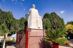 Lin Zexu statue on Hong Shan hill Urumqi Xinjiang China stock image