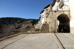 Linares de Mora village,Teruel, Spain Royalty Free Stock Photography