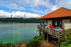 Linau jezioro w Tomohon Zdjęcia Stock