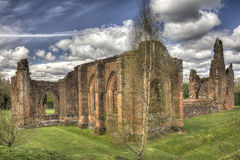 Lincluden Collegiate Church - South East Corner HDR Royalty Free Stock Photo