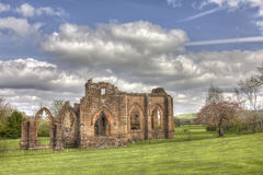 Lincluden Collegiate Church - South View Distant HDR Royalty Free Stock Images