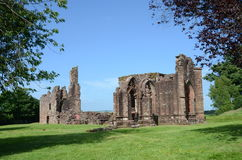 Lincluden Collegiate Church. A view of the ruins of the ancient collegiate church near Dumfries Royalty Free Stock Photography