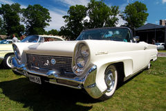 Lincoln 1958 MarkIII continentale Fotografie Stock Libere da Diritti