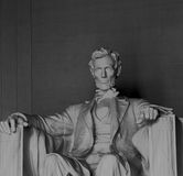 Lincoln. A view of the statue at the Lincoln Memorial in Washington DC Stock Photography