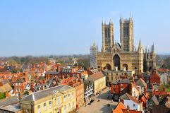 Lincoln, Angleterre Photo stock