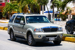Lincoln Aviator fotografie stock