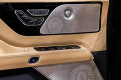 Lincoln Aviator indicato al New York International Auto Show 2018 fotografie stock libere da diritti