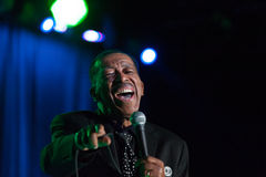 Ben E King. LINCOLN, CA – March 15: Ben E King performs at Thunder valley Casino Resort in Lincoln, California on March 15, 2013 Royalty Free Stock Photos