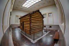 Lincoln-cabine Royalty-vrije Stock Afbeelding